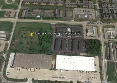 Worthington Woods Blvd – 7.5 Acres Zoned LM2